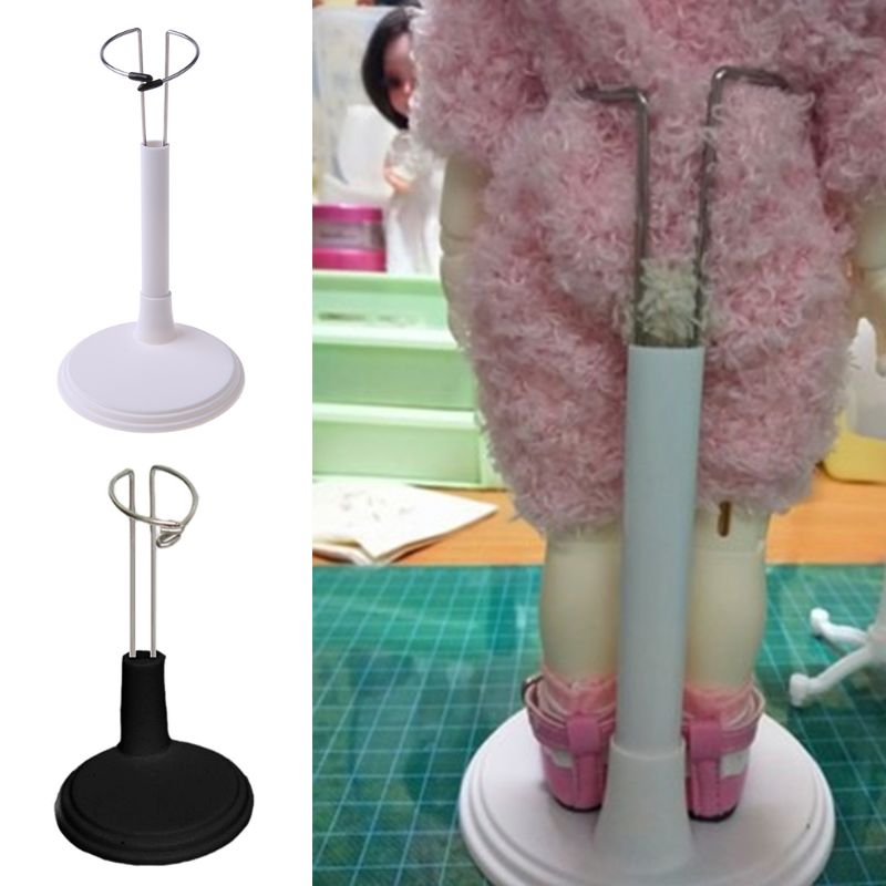 1 Pcs Plastic Doll Stands  Professional Holder Display Base Holder For Bear Doll