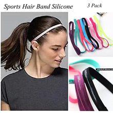 3 pçs cabeça de cabelo banda sweatband bandana estiramento dos homens envoltório elástico esportes finos esportes fitness moldar anti-suor bandana # k