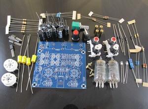 Image 4 - Audiophile 6J1 צינור מגבר אוזניות כוח מגבר pre amp אוזניות Amp 6J1 שסתום Preamp חיץ מרה Amplifie DiY קיט