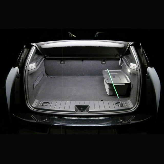 TPKE 9 Piece Xenon White 5050 SMD LED Interior Kit For 2015-2017 Chrysler 200  Trunk Map Dome License Plate Light 6