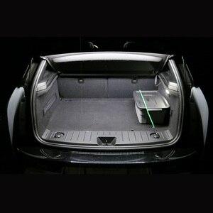 Image 5 - Tpke 8 pces acessórios do carro branco interior lâmpadas led pacote kit para 2005 2015 toyota tacoma mapa dome lâmpada da placa de licença