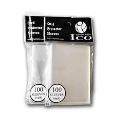 100Pcs Transparente de Filme Protetor de Cartão De Jogo Definido Cartão Coleção Cartão não M6X2 Wanzhi Kingdoms Morte Mangas Jogos Ao Ar Livre