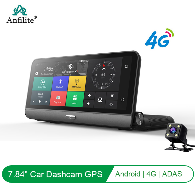 Anfilite Truck GPS navigator 8 inch GPS Smart Voice Reminder 1+16 GB WiFi BT Global Navigation Satellite 4G Dash Cam Recorder|Vehicle GPS| |  - title=