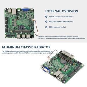 Image 5 - BEEBPC 8th Gen Mini PC DDR4 RAM Intel Core i7 8550U Wifi HDMI Dellufficio della Mini Computer i7 Gaming PC 4K UHD Grafica 620