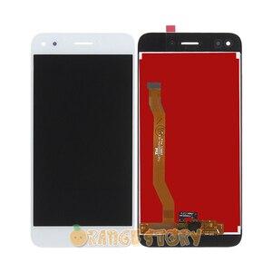 """Image 3 - 100% Test sensörü LCD ekran için Huawei Nova lite 2017 SLA L22 5 """"LCD dokunmatik ekranlı sayısallaştırıcı grup çerçeve değiştirme"""