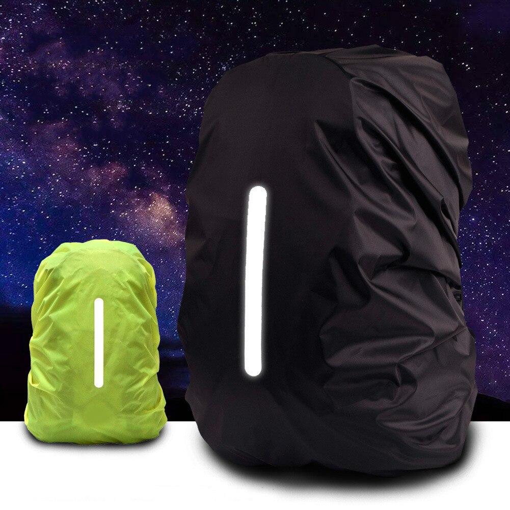 Светоотражающий водонепроницаемый рюкзак с защитой от дождя, светильник непромокаемый чехол для защиты от дождя для занятий спортом на отк...