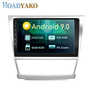 Autoradio10.1'' Android Car Harness For Toyota Camry 2007-2011 Stereo Auto Car Radio Navigation GPS магнитола Video player 2 Din