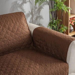 Image 3 - Sofa Couch Cover Pet Dog Kids Mat Furniture Protector Reversible Removable Armrest Slipcovers For 1/2/3 Seater Sofas Living Room