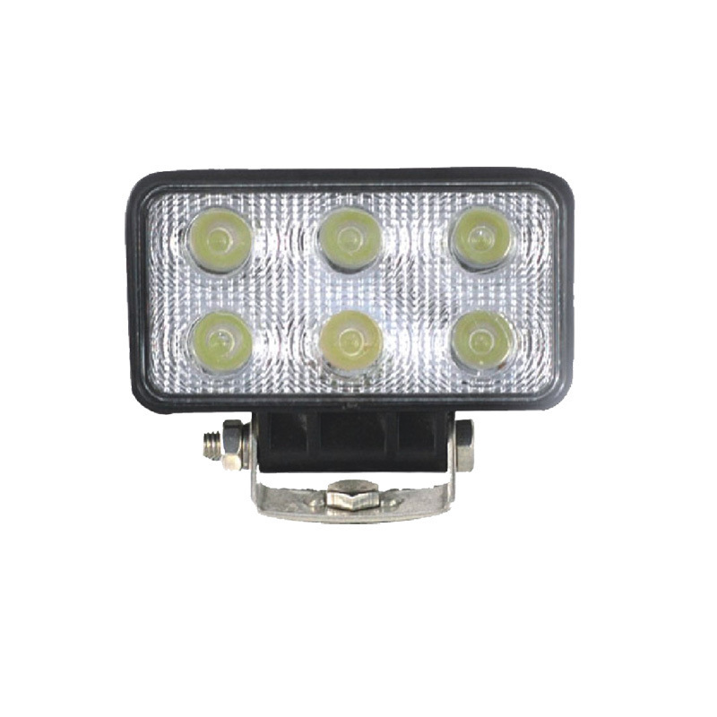 18 W Work Examining Light Led Manufacturers Supply Square Off-road Light Electric Light Leds Mounted