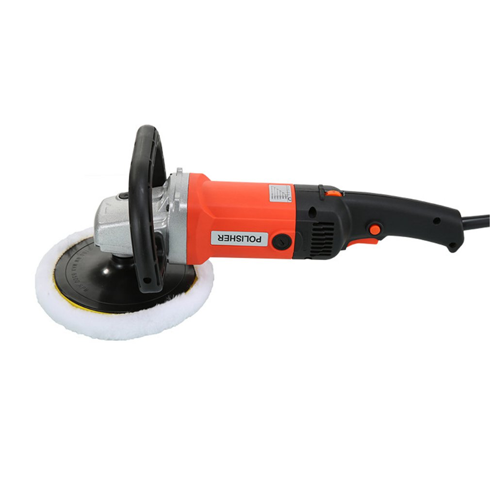 1400W Grinder Mini Polishing Machine Car Polisher Sanding Machine Orbit Polish Adjustable Speed Sanding Waxing Power Tools
