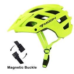 Kask na rower górski OFF-ROAD do roweru szosowego i górskiego kask z wizjerem Downhill Racing jazda na zewnątrz kask ochronny Casco Ciclismo