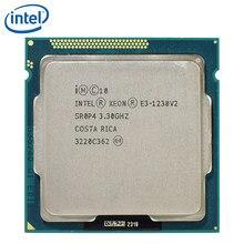 Intel processador xeon, processador E3-1230 v2 cpu 3.3ghz 69w sr0p4 8m quad core E3-1230-V2 lga 1155 cpu e3 1230 v2 testado 100% trabalhando