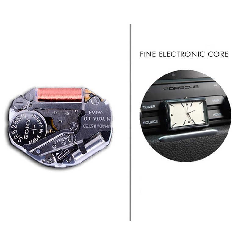 Nova chegada relógio de pulso do painel do carro alto grau auto interior relógio ornamento automóveis adesivo relógio acessório interior