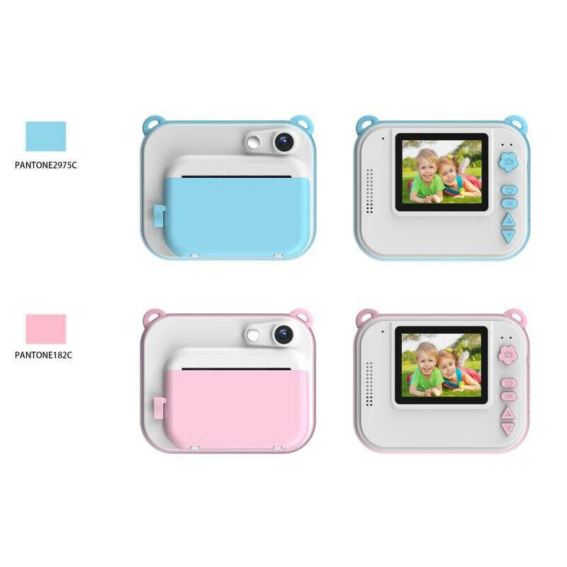 DIY Digital Instant Print Camera Full Color Prints Child Camera for Children Baby Gifts