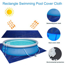 Swimming Pool Cover 2020 Top Rectangle Swimming Pool Cover Outdoor Paddling Family Pools Waterproof Rainproof Dust Cover swimming pool cover spa rainproof dust covers for outdoor swim sports gym cover accessories