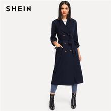 Coat SHEIN Longline Double