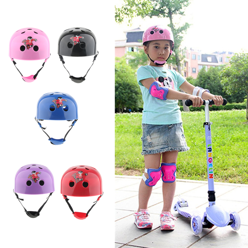 Kids Sports Safety Helmet For Roller Skating Skateboarding Cycling