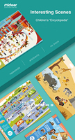 Mideer Reusable Stickers Children Cartoon Waterproof Scrapbook Baby Toy Stickers for 3 6 Years Kids Education Toys Puzzle Stick