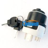 Interruptor de ignição 85804674 para New Holland 555E 575E B110 B115 LB90 LB110 LB115