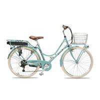 Bicicleta elétrica Burricleta Cuca Azul Feito em Espanha