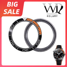 Часы rolamy с керамическим покрытием черные оранжевые серебристые
