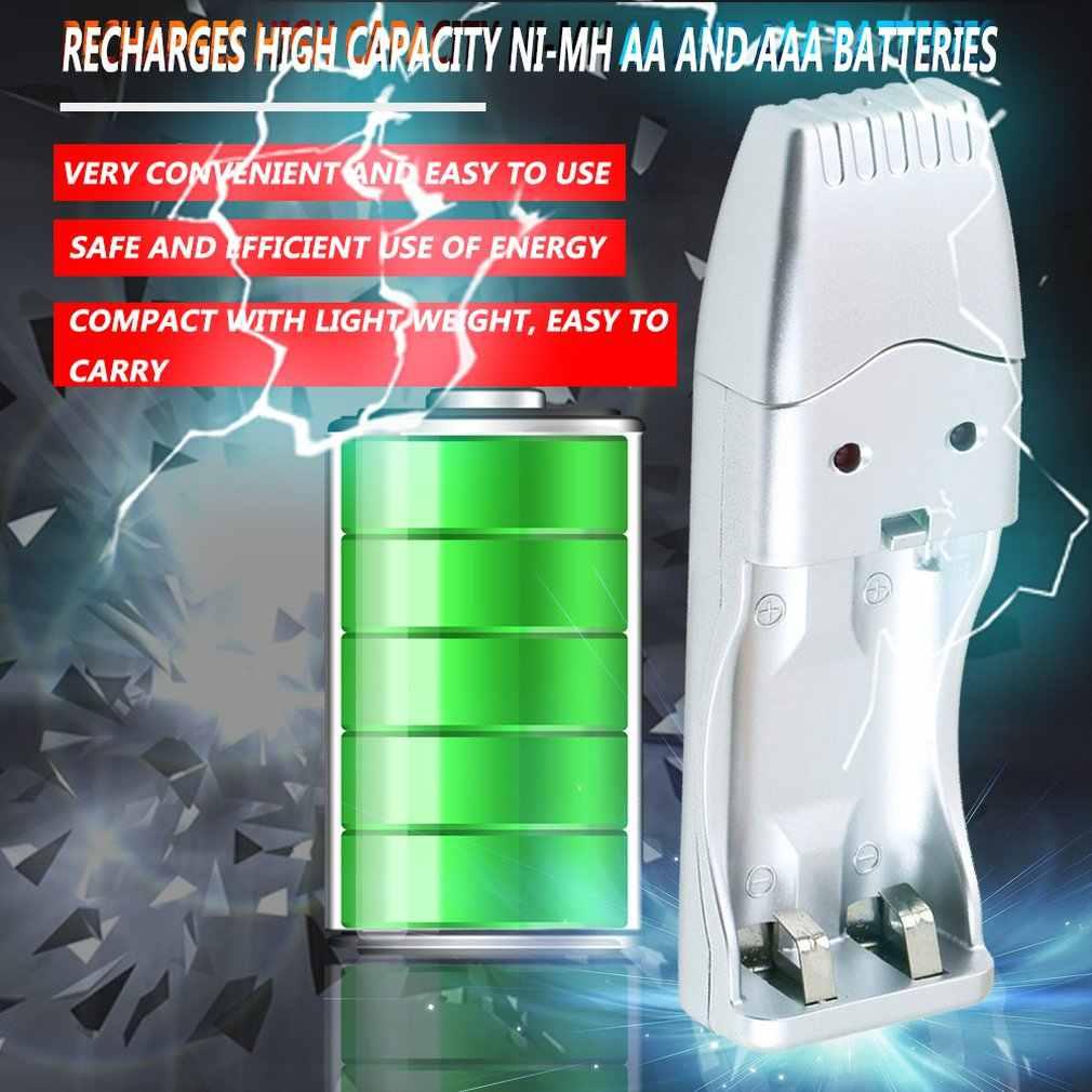 شاحن يو اس بي لni-mh AA AAA 2A 3A مناسب محمول قابل للشحن بطارية شحن أجهزة carregador de bateria جديد