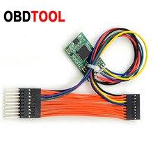 녹색 PCB CAN 필터 18 In 1 벤츠 W212 W221 필터 18In1 및 BMW CAS4 및 FEM 범용 주행 조정 도구