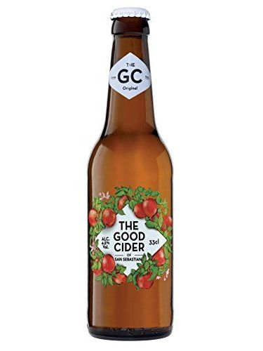 THE GOOD CIDER OF SAN SEBASTIAN APPLE 33CL - Caja Con 24 Botellas
