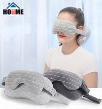 Creative Pillow Multi-Purpose Eye Mask Neck Throws Pillow Sleeping Mask Pillow for Travel Foam Particles Fillling Stripend multi action foam cleanser purifying mask