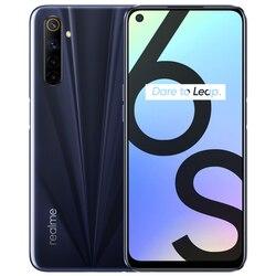 Новый смартфон Realme 6s 6G 128 ГБ 90 Гц 6,5 дюймов FHD дисплей телефон 48MP Qual камера 4300mAh 30W changer Android Мобильные телефоны