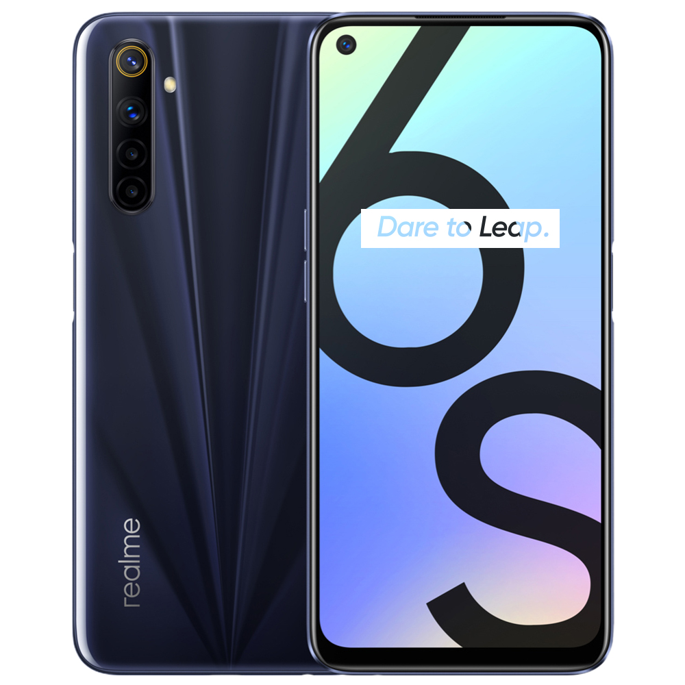 NEW Realme 6s smart phone 6G 128GB 90Hz 6.5inch FHD Display Telephone 48MP Qual Camera 4300mAh 30W changer Android mobile phones