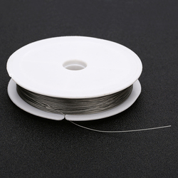 New Stainless steel wire 0.3~0.8mm Beading Rope Cord Fishing Thread String For DIY Necklace Bracelets Jewelry Making findings