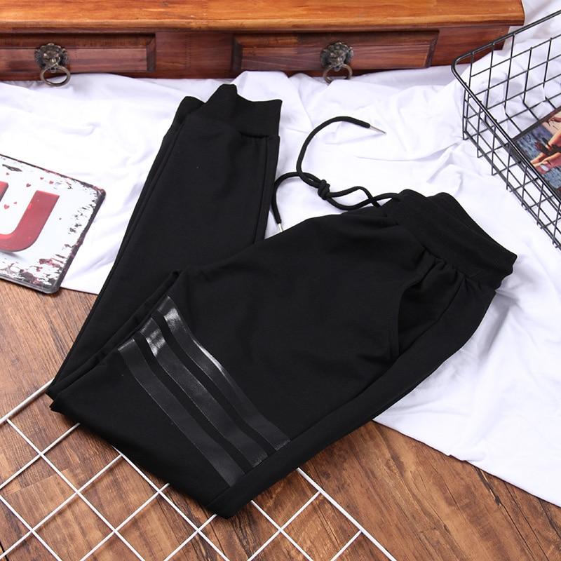 DONAMOL Plus Size Women Sweatpants 2020 New Loose 200g Wearable Black Casual Trouser Autumn Outdoors Hip-Pop Harem Pants Femme