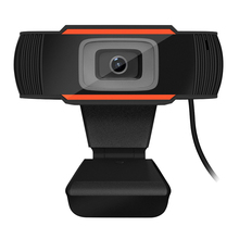 1080P Web Camera Rotatable USB Camera Built-in Microphone We