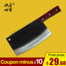 Chef kitchen knife 8 Inch Chinese handmade forged slicing knife cleaver vegetable fruit meat fish kitchen knife кухонные ножи