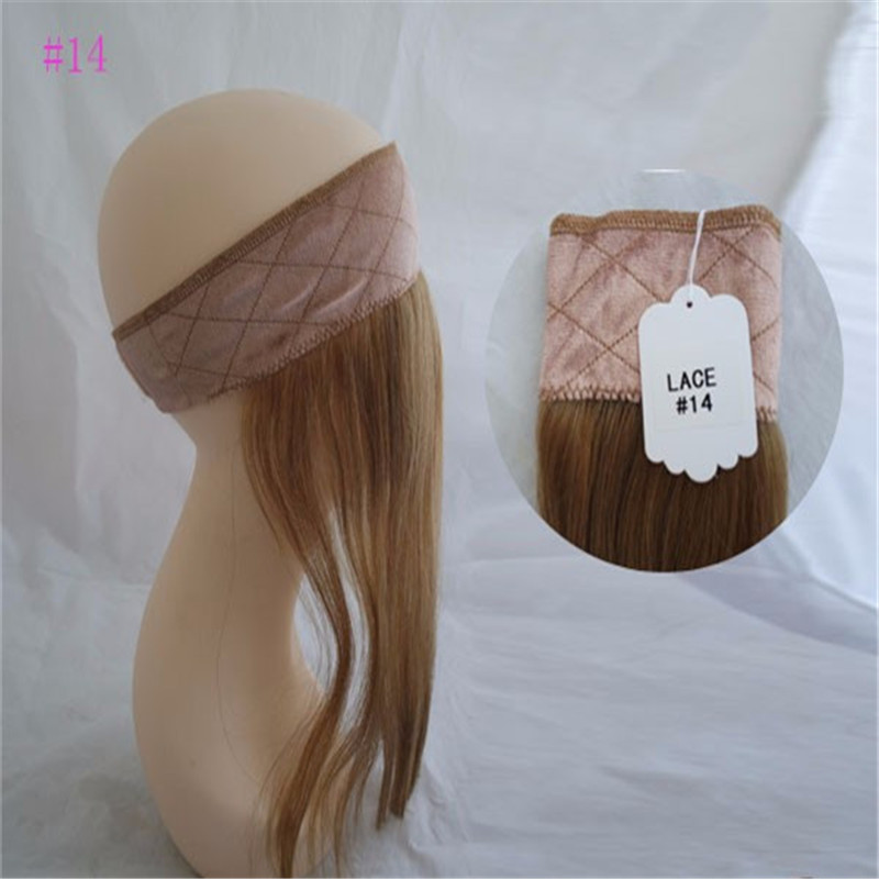 100% European Hair Iband Head Band Lace Wig Grip For Jewish Wig Kosher Wigs