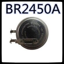 (10 шт.) BR2450A 3 в автомобильный манометр для шин Fujitsu с сенсорным экраном Аккумулятор Новый и оригинальный