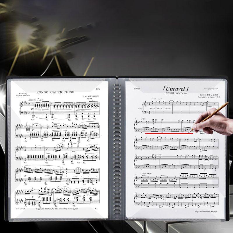 A3 Size Music Score Sheet Document File Folder Storage Organizer Holder Cases N0HC