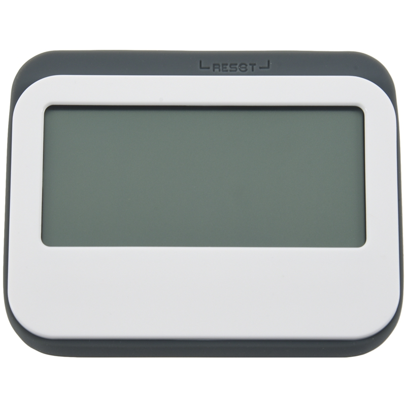 Magnetic Digital 24 Hours Kitchen Timer/ Clock with Large Screen (Grey)|Kitchen Timers| |  -