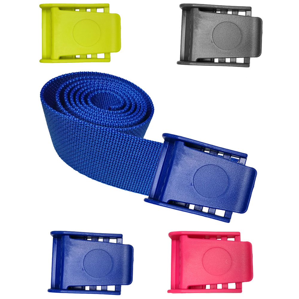 1.5M Strong Durable Replacement Webbing Waist Belt For Backplate Scuba Diving Weight Belt