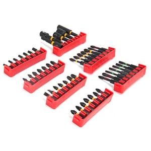 Image 2 - Brocas de destornillador WORKPRO para destornillador eléctrico 47 en 1 ranurado/Phillips/Torx/Pozidriv Bits Juego de llaves para tuercas de impacto puntas duras