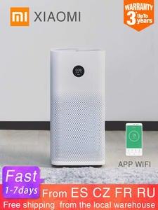 Воздухоочиститель Xiaomi Mi 2S, дополнительный умный очиститель воздуха, HEPA-фильтр, управление через приложение, Wi-Fi