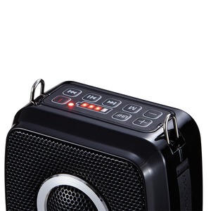 Image 3 - 新 25 ワットポータブルメガホン UHF ワイヤレス Bluetooth 音声アンプマイクベルト使用時間 20 時間 2600mAh サポート TF U ディスク USB
