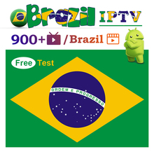 1 Year IPTV Brazil Portuguese Subscription Support EPG H.265 4K Android Brasil IP TV No App Include