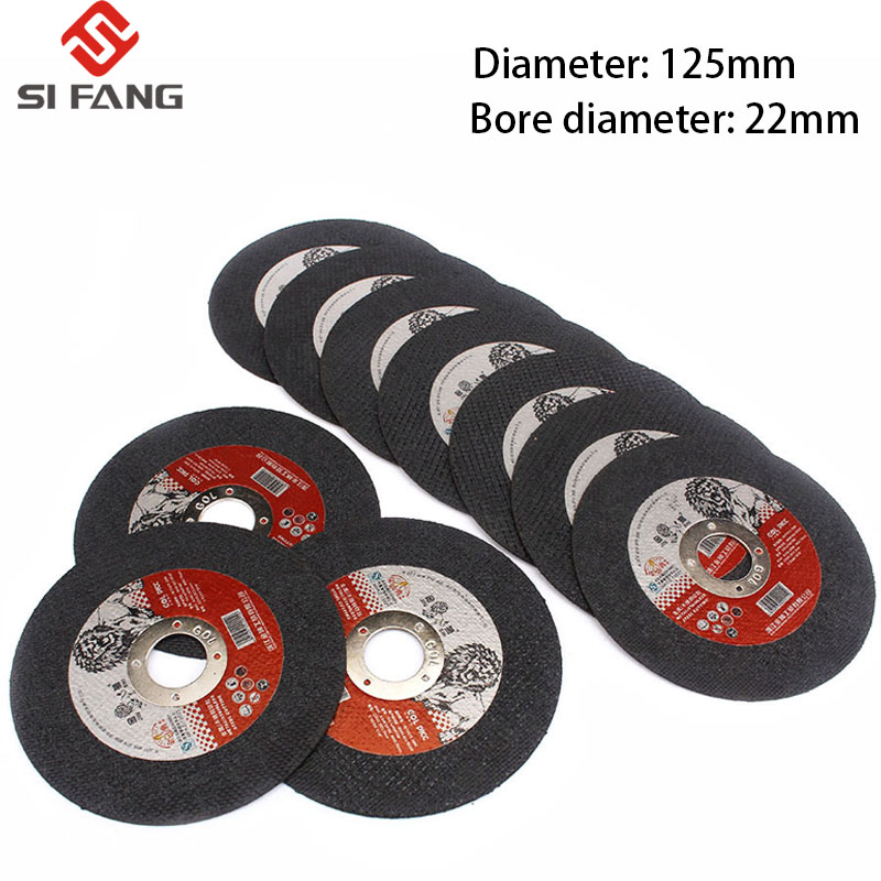 5-50Pcs 125MM  Grinding Discs Metal Resin Cutting Discs Wheel Flap Sanding Grinding Discs Angle Grinder Wheel