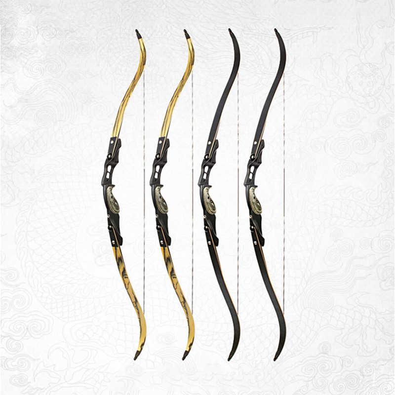 30-60 ポンド後ろに反らす弓長さ 62 インチアメリカ狩猟ボウ左手弓射撃屋外ハンティングゲームスポーツ弓