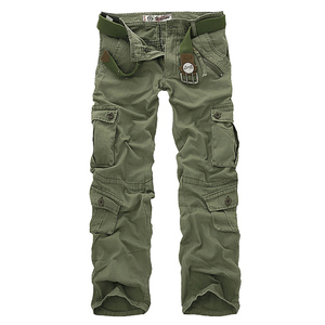 Image 1 - Hot sale free shipping men cargo pants camouflage  trousers military pants for man 7 colors