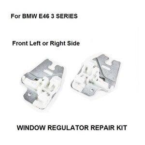 Image 1 - Металлический слайдер для окна BMW E46 3 серии ремонтные зажимы с металлическим слайдером передний правый или левый 98 13