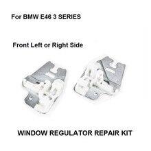 Okno suwak metalowy do BMW E46 3 SERIES naprawa regulatora okna klipy z suwak metalowy przednia prawa lub lewa 98 13