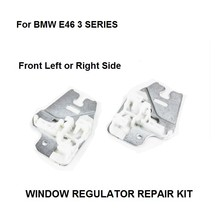 WINDOW METAL SLIDER FOR BMW E46 3 SERIES WINDOW REGULATOR REPAIR CLIPS with METAL SLIDER FRONT RIGHT or LEFT 98 13